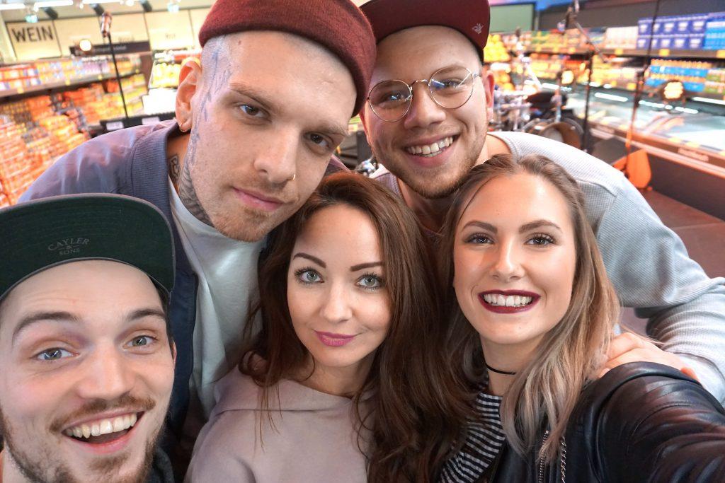 Fargo, Boris, Tay, Jenny & ich