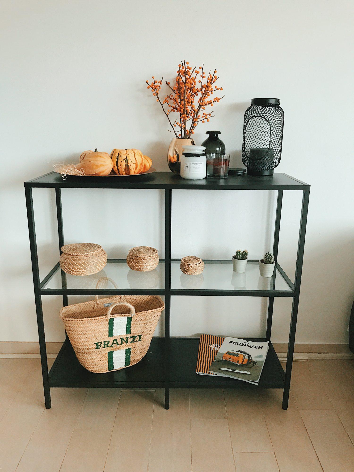 Interior Einrichtung Herbst Ikea Regal Stylisch Schwarz Modern  Lifestylebloggerin Ffranzy Fashioforffranzy Koeln