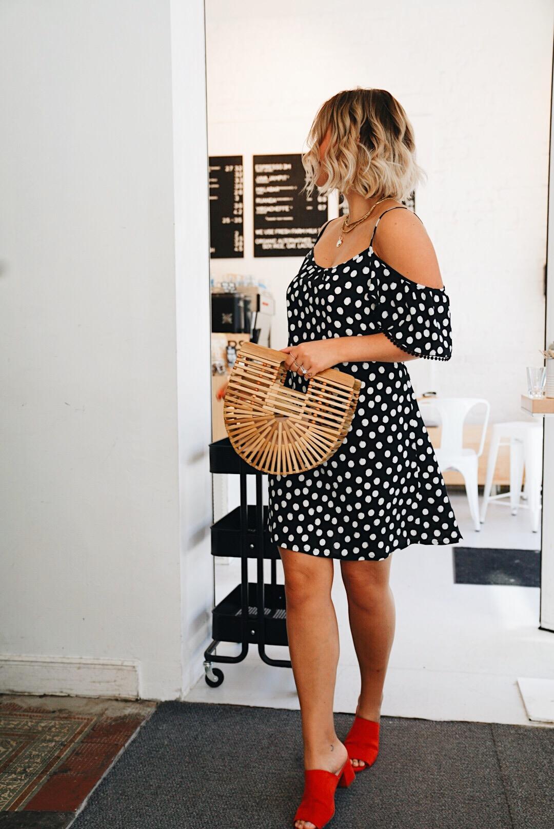 Fashion: Sommertrend Polka Dots Kleid in schwarz weiß - fashion for ...