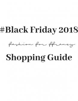 Shopping: Black Friday – Meine Favoriten für die Cyberweek 2018