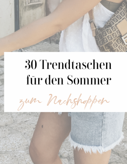 Shopping: 30 Trendtaschen für den Sommer