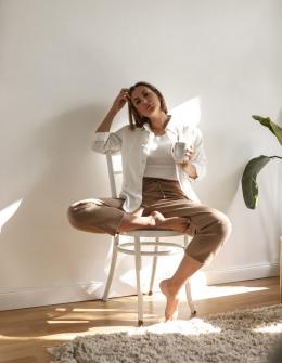 Bequeme und stylische Outfits für Zuhause